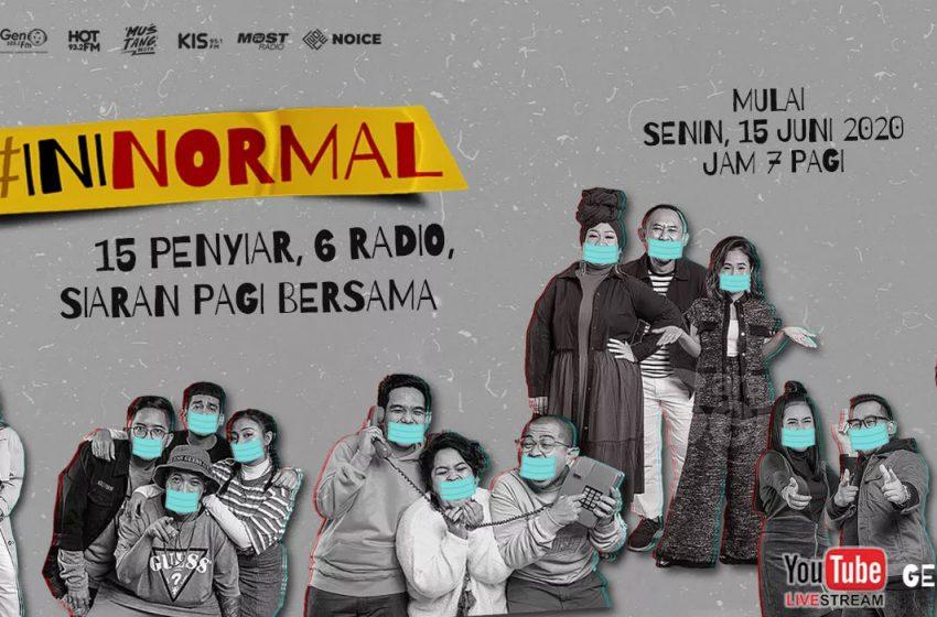 Ini Normal Show, Inovasi Baru Industri Penyiaran Mahaka Radio Integra