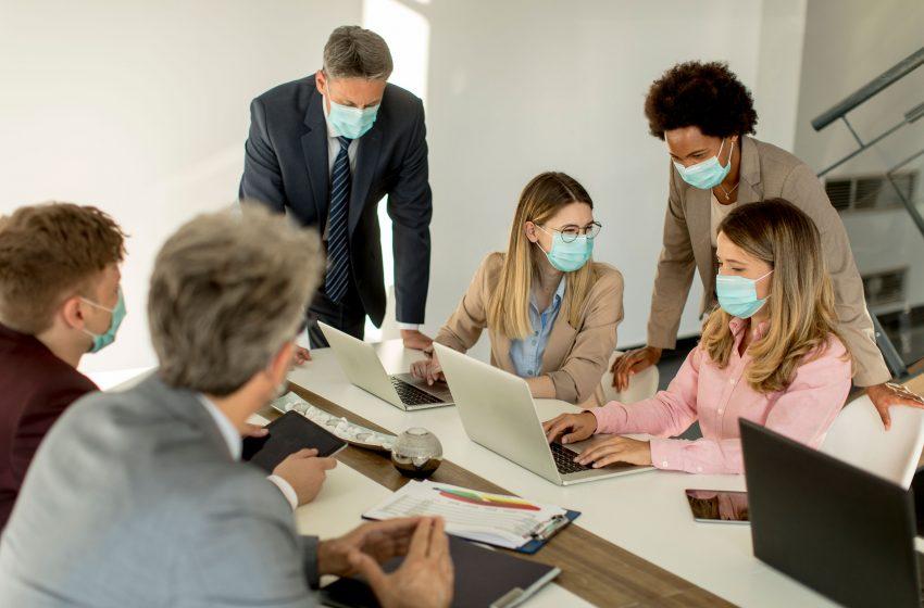 Maksimal  Kapasitas Kantor 25 Persen Selama PSBB
