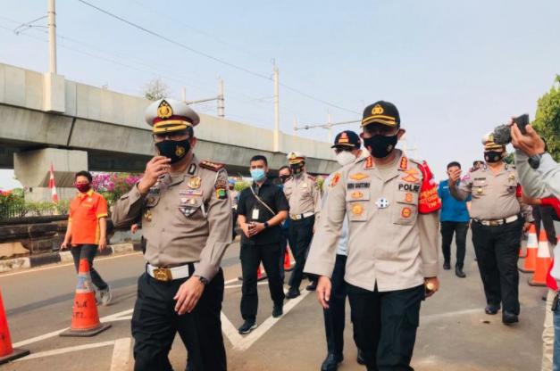 8 Titik Operasi Yustisi Protokol Covid-19 di Jakarta