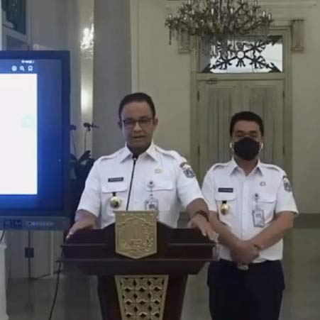Kasus Covid Melandai, Jakarta Balik ke PSBB Transisi Besok