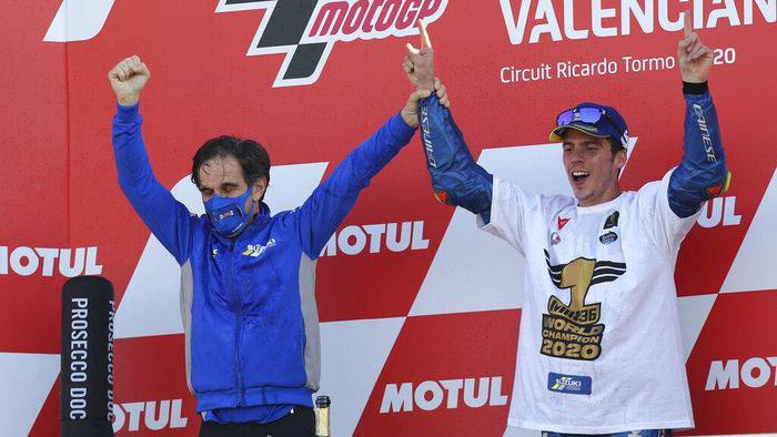 Joan Mir Juara Dunia, Suzuki di Ambang Triple Crown MotoGP 2020