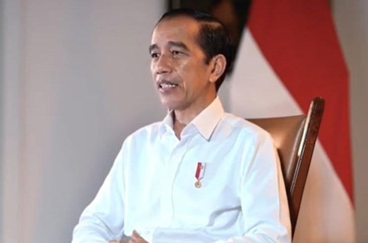 Jokowi Tegaskan Akan Jadi Orang Pertama Disuntik Vaksin Corona di RI