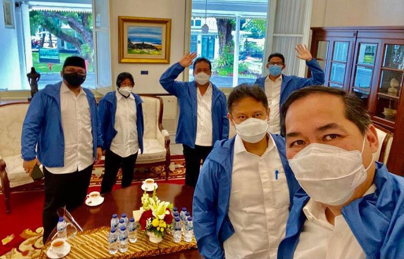 Wajah Baru di Kabinet Indonesia Maju
