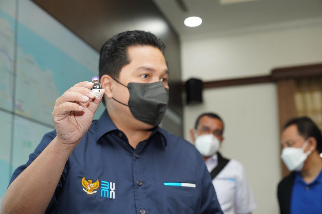 Erick Thohir Minta Kepala Daerah Menyimpan Vaksin Covid-19 di Suhu 2-8 derajat