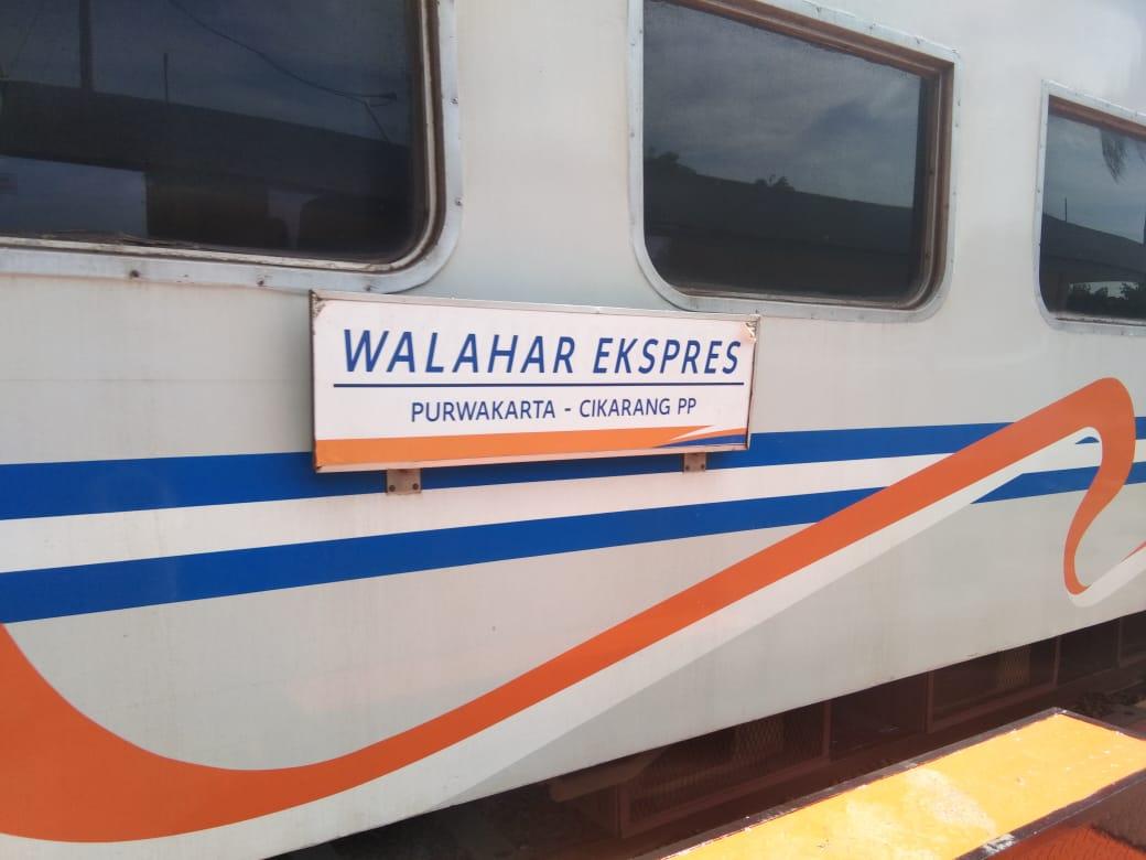 KA Lokal Walahar Kembali Beroperasi Dengan Pola Operasi Cikarang – Purwakarta