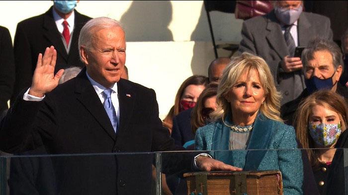 Joe Biden Resmi Dilantik Jadi Presiden ke-46 AS