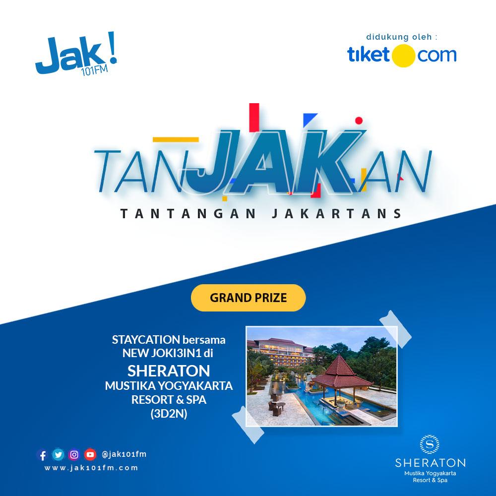 Nanjak Seru di TanJAKan JAK FM!