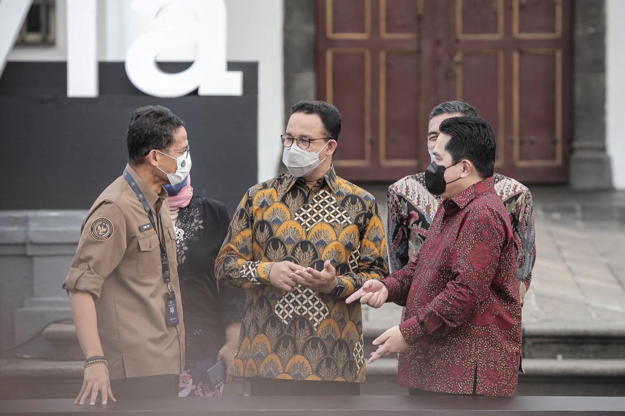 Kementerian BUMN dan Pemprov DKI Jakarta Sepakat Revitalisasi Kawasan Kota Tua-Sunda Kelapa