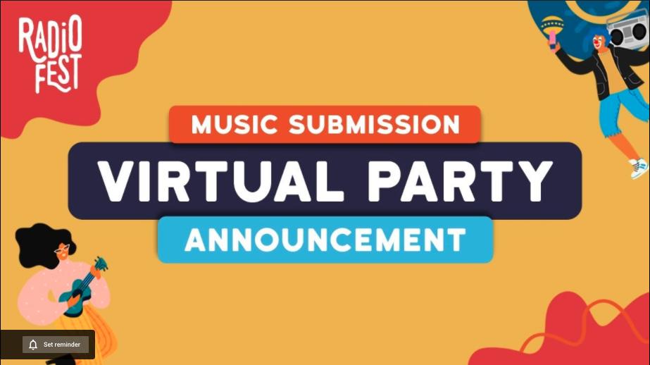 Radiofest Virtual Party Announcement | ft. Oslo Ibrahim & Dul jaelani
