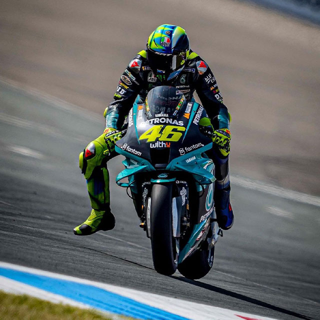 Valentino Rossi Pensiun dari MotoGP