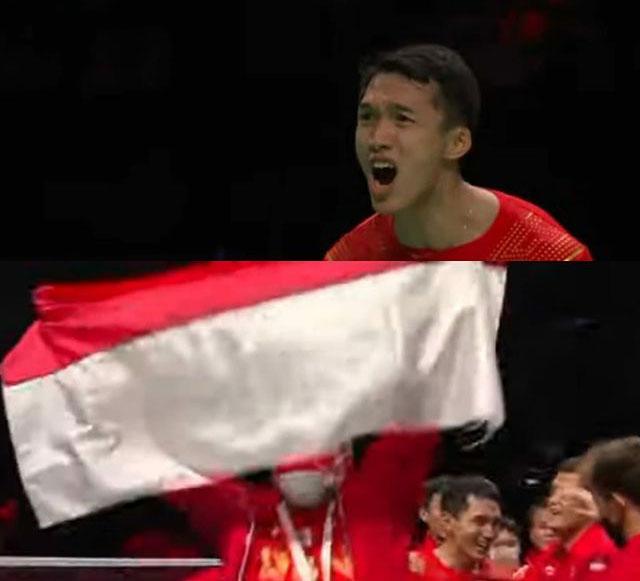 Indonesia Juara Piala Thomas Cup 2020